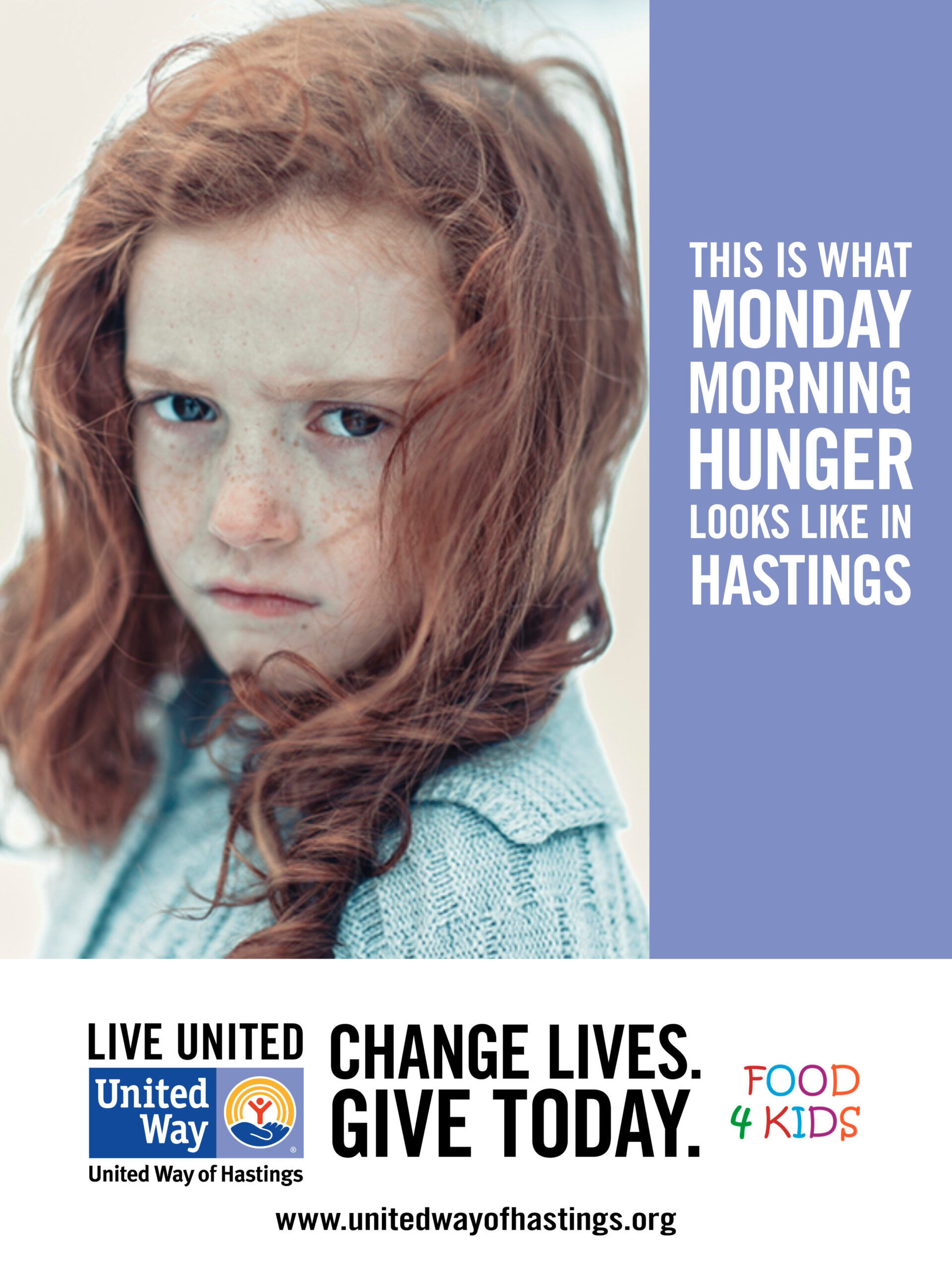 Food 4 Kids Impact Poster