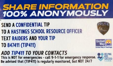 TIP 411 Card