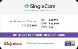 SingleCare Card